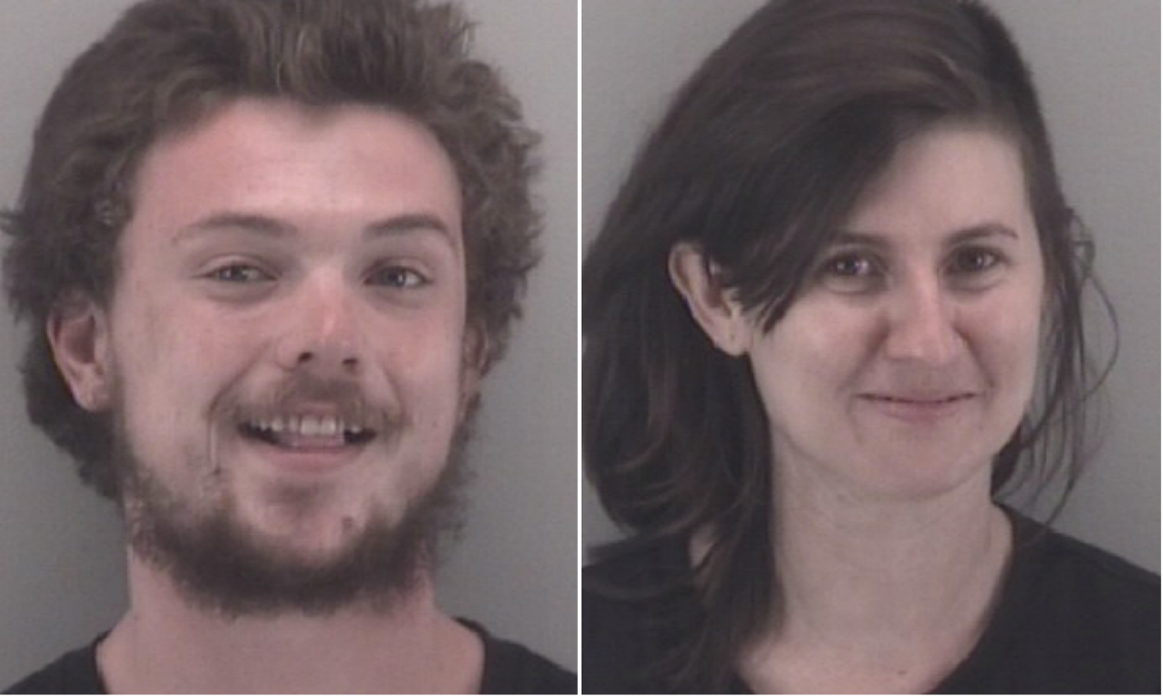 Dometrius Holden, 23, of Winston-Salem, North Carolina and Gabrielle Heinlein, 27,  of Pembroke, Virginia