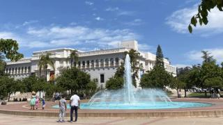 Balboa Park Water Fountain