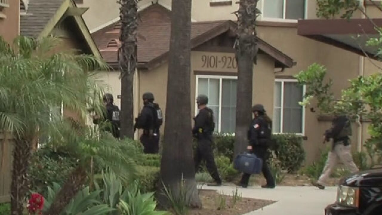 Agents search YouTube shooter's San Diego home