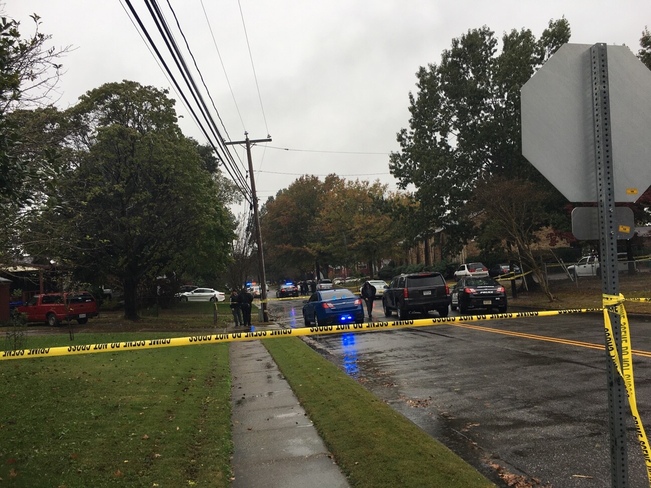 Photos: Portsmouth Police investigating officer-involved shooting