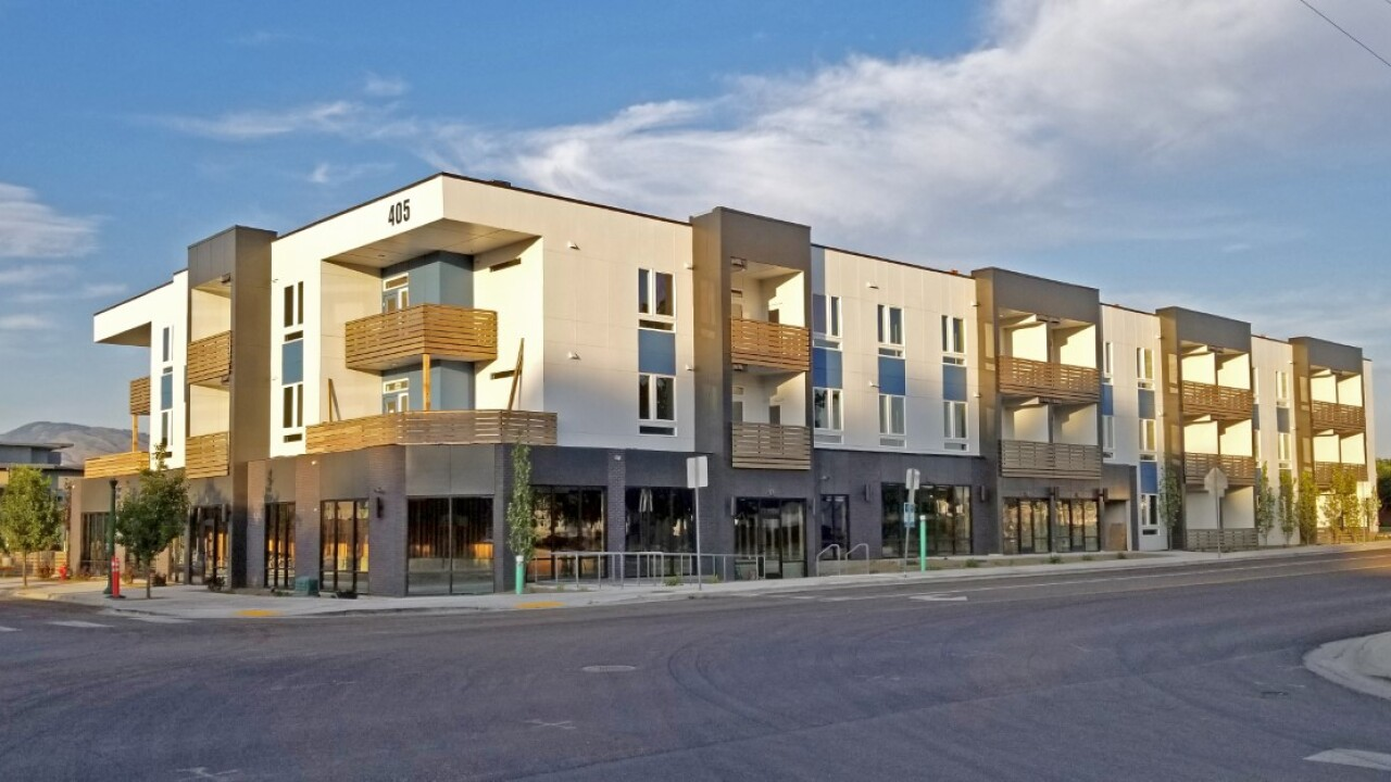 New Garden City complex combines retail and residential use