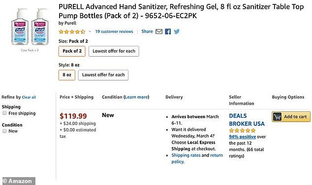 Price gougers ask insane prices for hand sanitizer, masks amid coronavirus outbreak