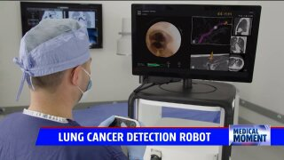 Medical Moment: Cutting-edge bronchoscopy robot