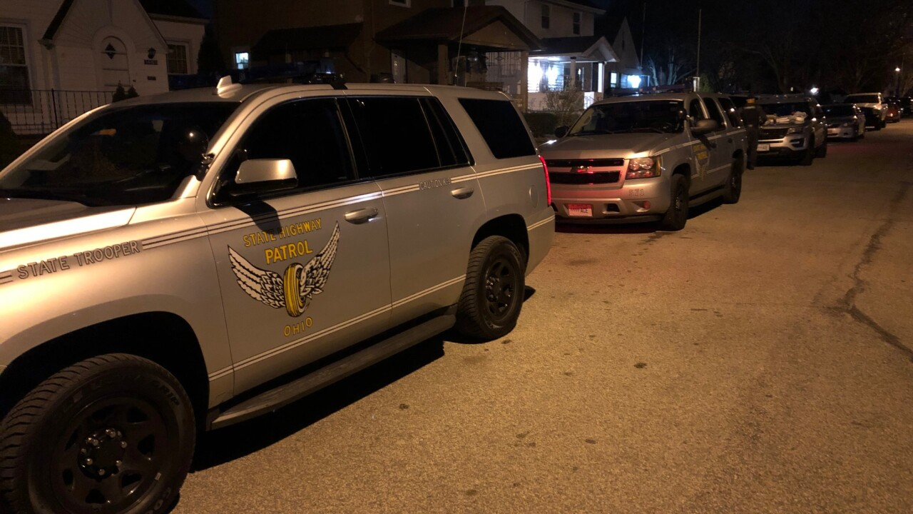 Law enforcement activity on Cleveland's West Side