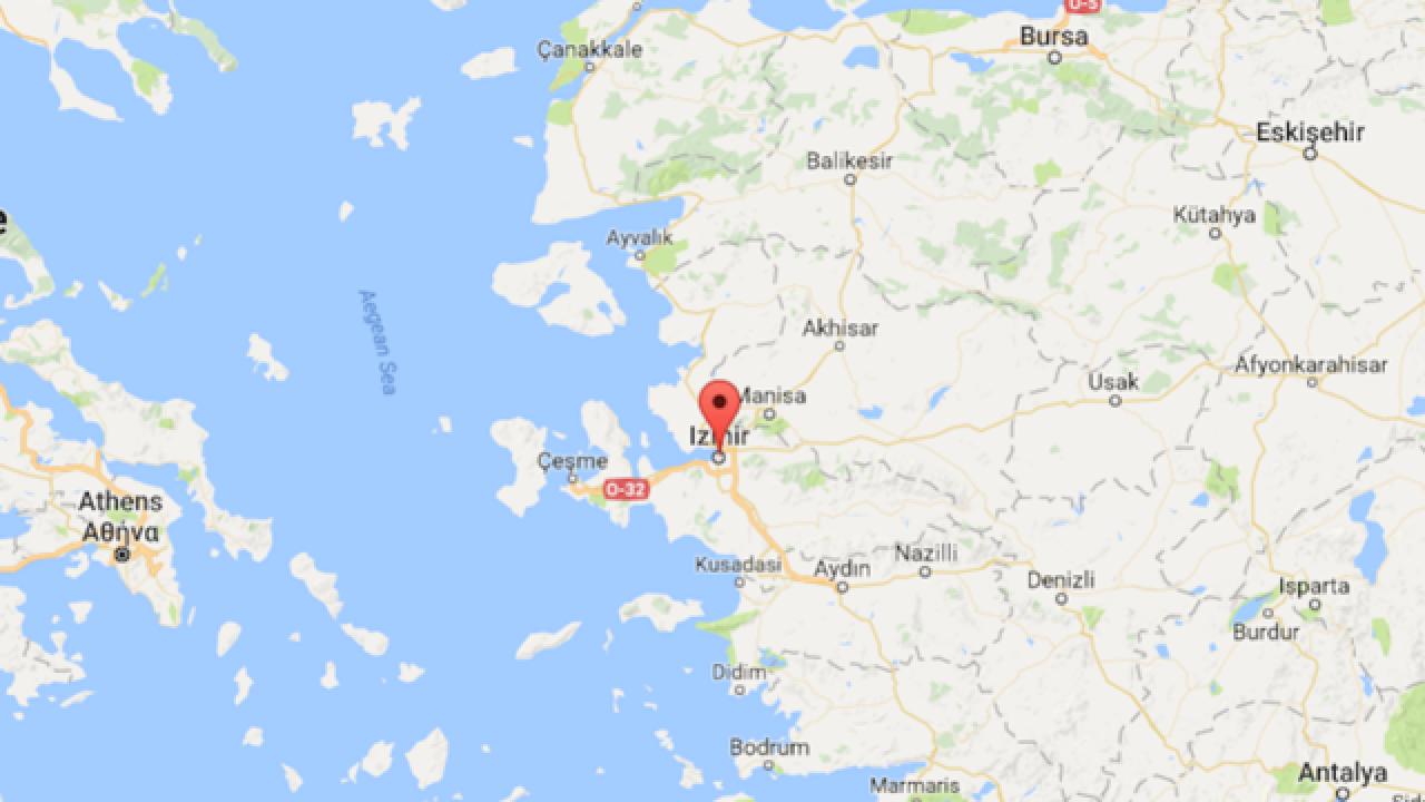 Turkey Explosion Near Courthouse In Izmir