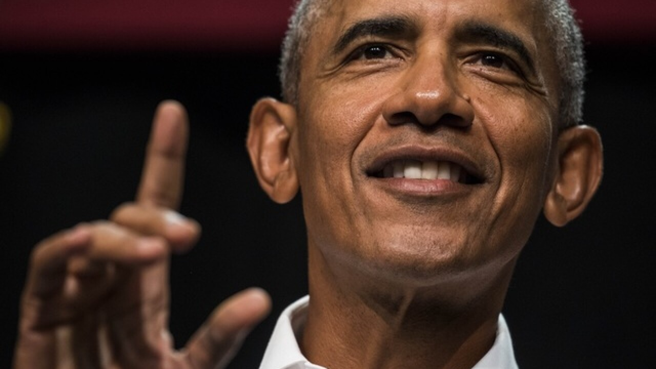 Obama tells voters sitting on sidelines in 2018 'dangerous'