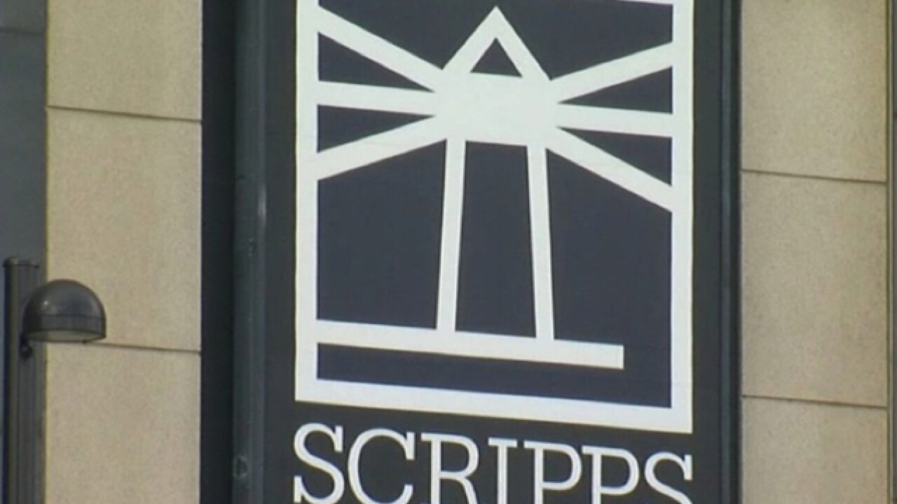 E.W. Scripps Co. shares jump 9 percent on faster-than-expected revenue growth
