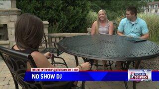 DJ leaves couple high and dry on weddingday