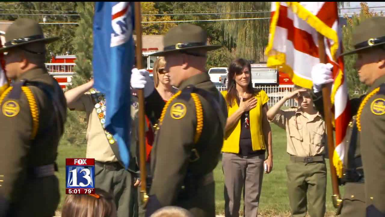 Hundreds attend Border Patrol agent's funeral in Spanish Fork