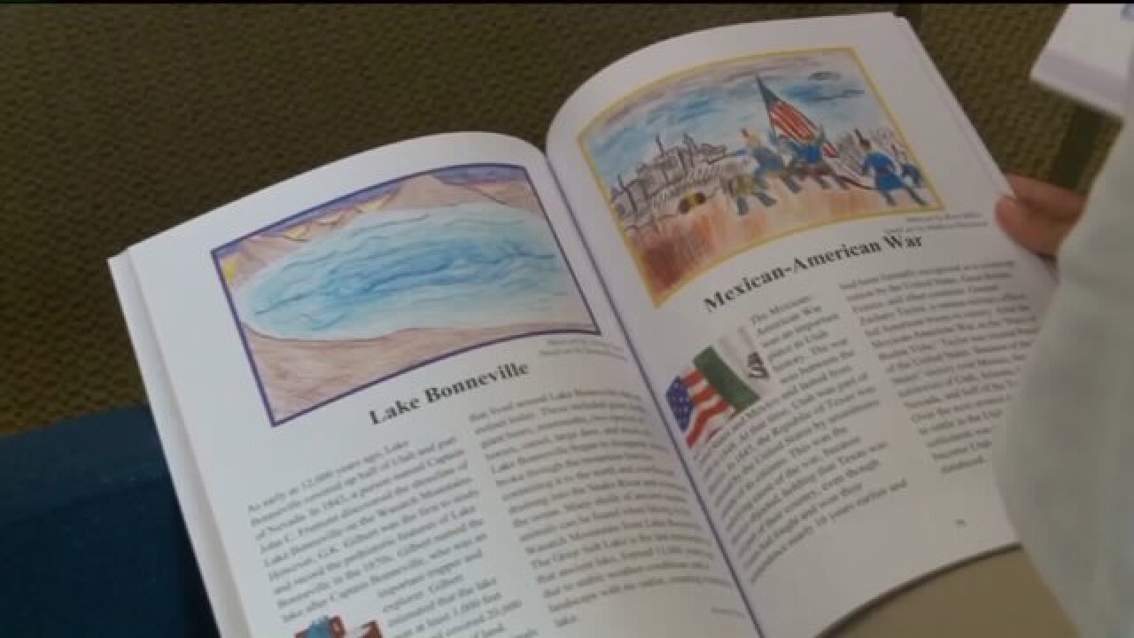 'Uniquely Utah' inspires section of book published by Venture Academystudents