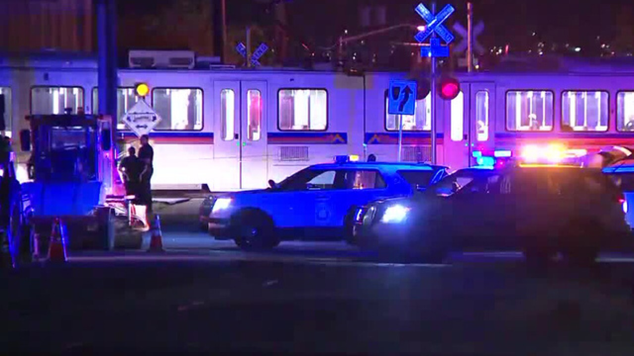 Pedestrian hit, killed by H Line light rail train in Denver