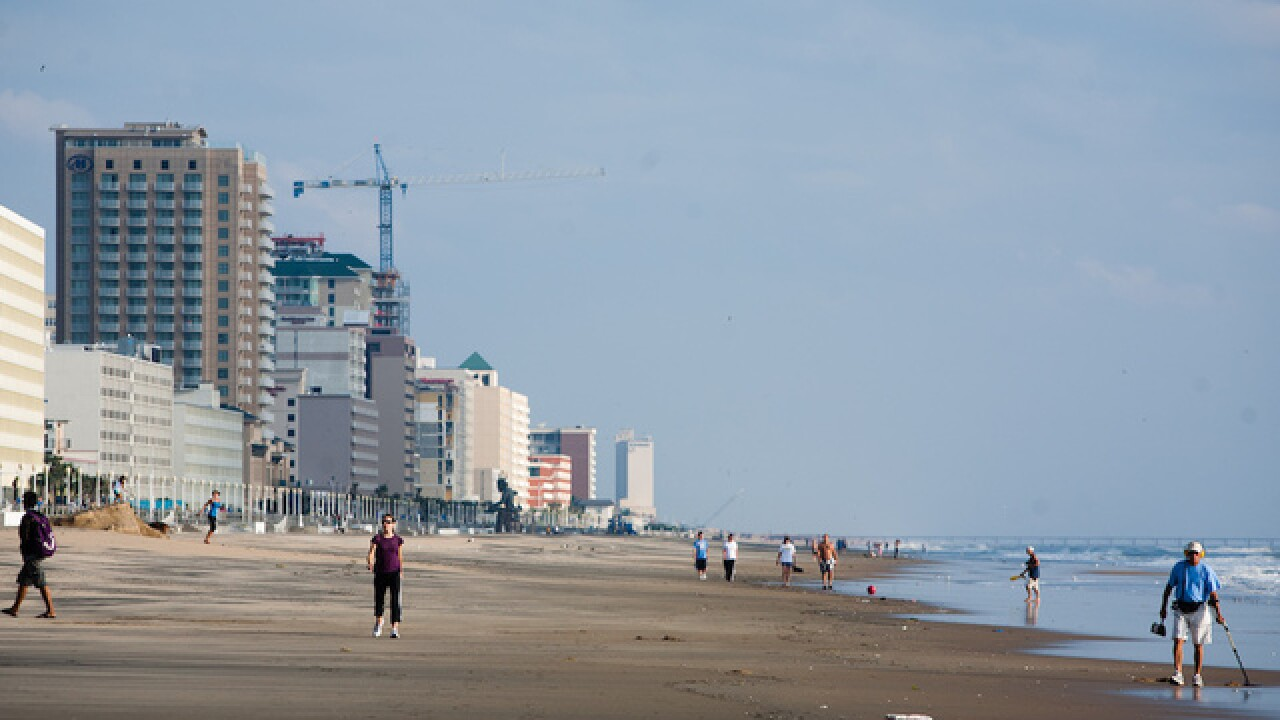Three Shot At Virginia Beach Oceanfront During College Beach