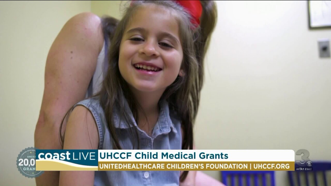 A foundation that provides grants for children with medical needs on CoastLive