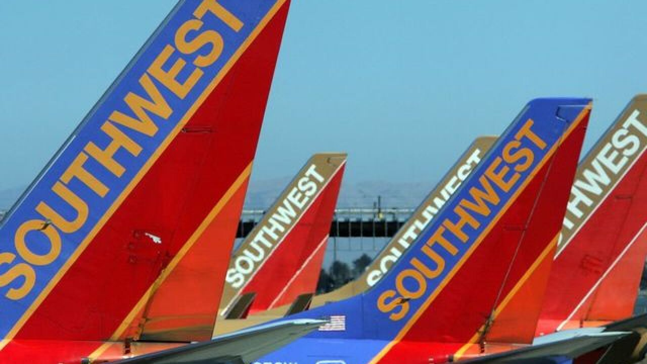 Southwest Airlines on ground stop at DIA