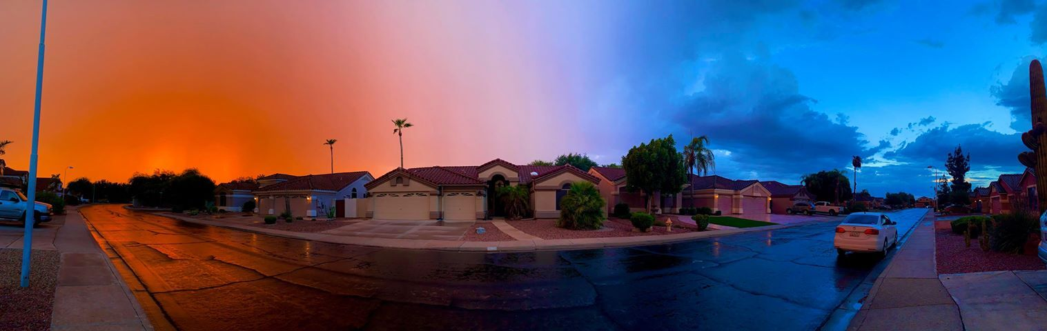 Red, White, and Blue Monsoon