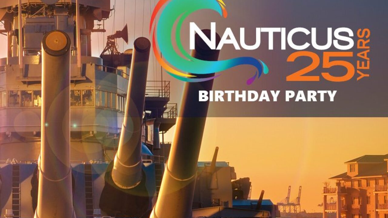 Nauticus to celebrate 25 years on the Norfolk waterfront with birthday party