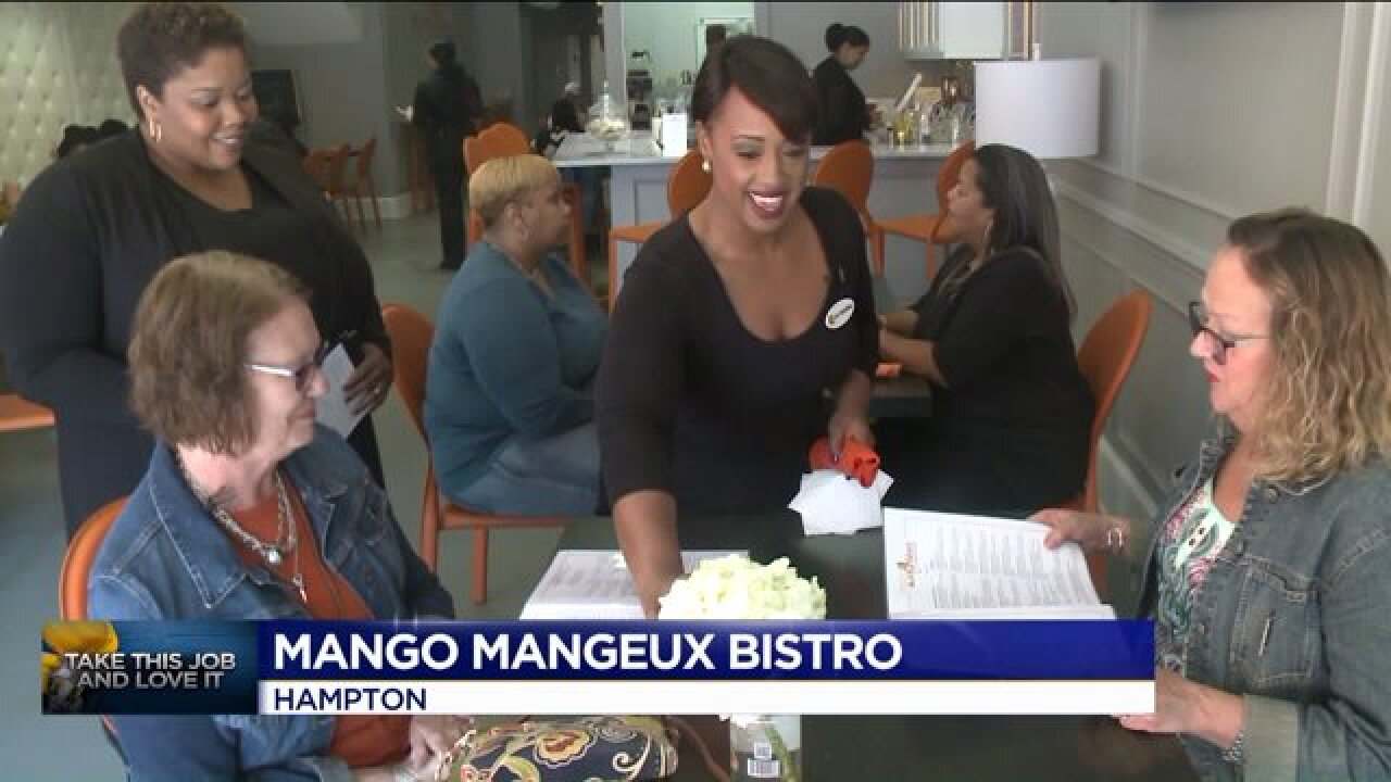 Take This Job and Love It: Jessica Larche tries out waiting tables at MangoMangeaux