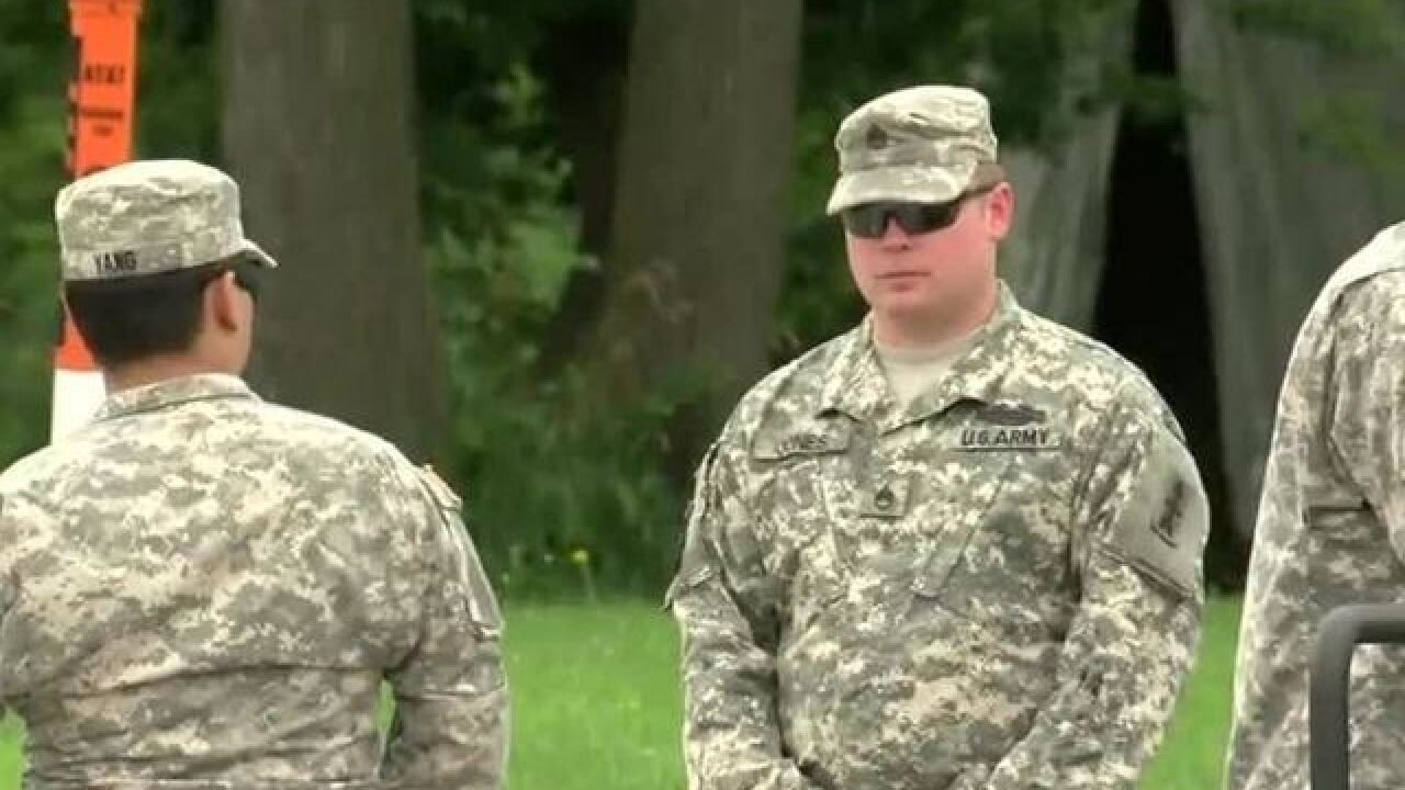 Wisconsin National Guard concludes mission to support civil authorities in Burlington
