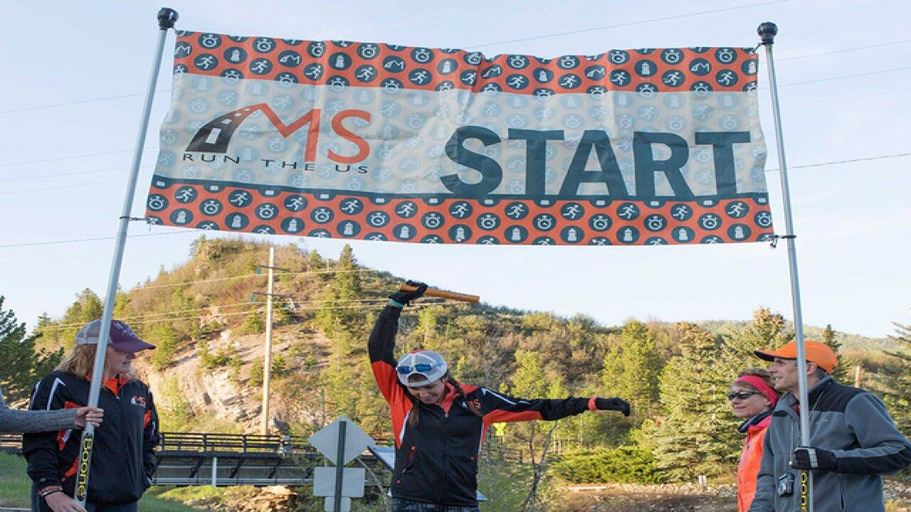 'Jogging with a soft 'j'' for Multiple Sclerosis