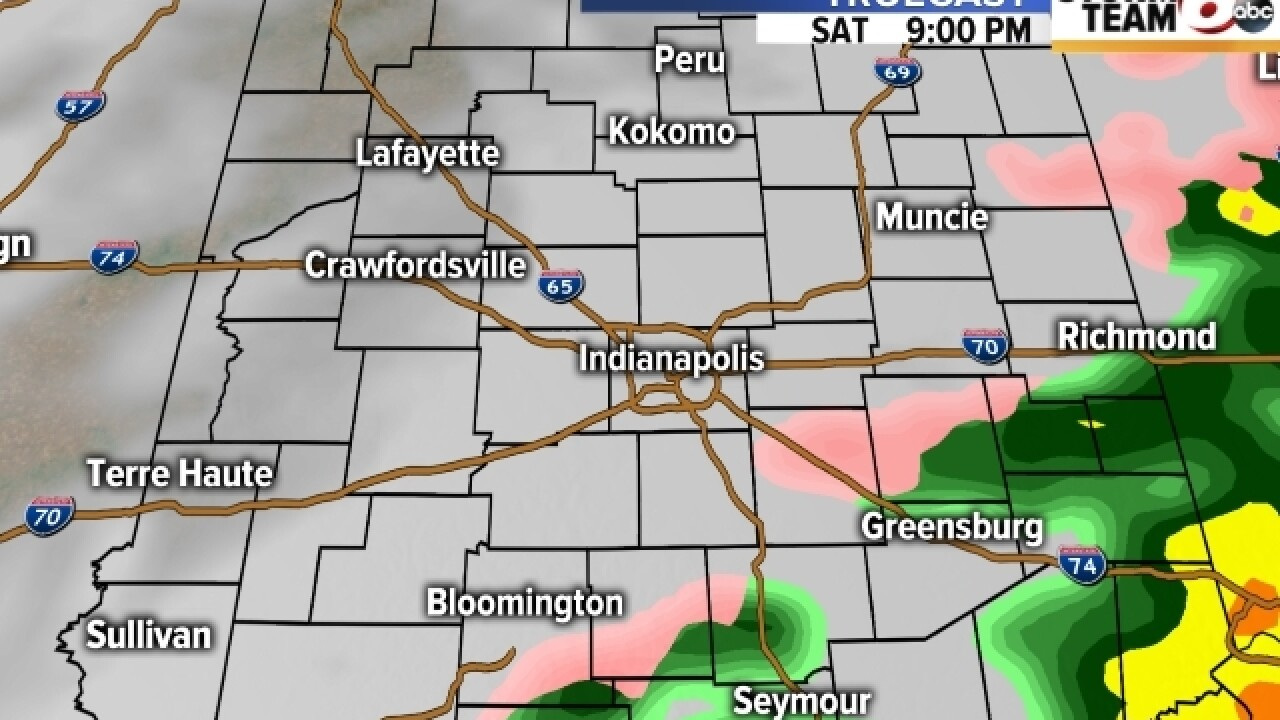 TIMELINE: When the wintry mix is headed your way