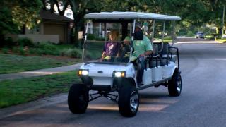 golf cart Temple Terrace