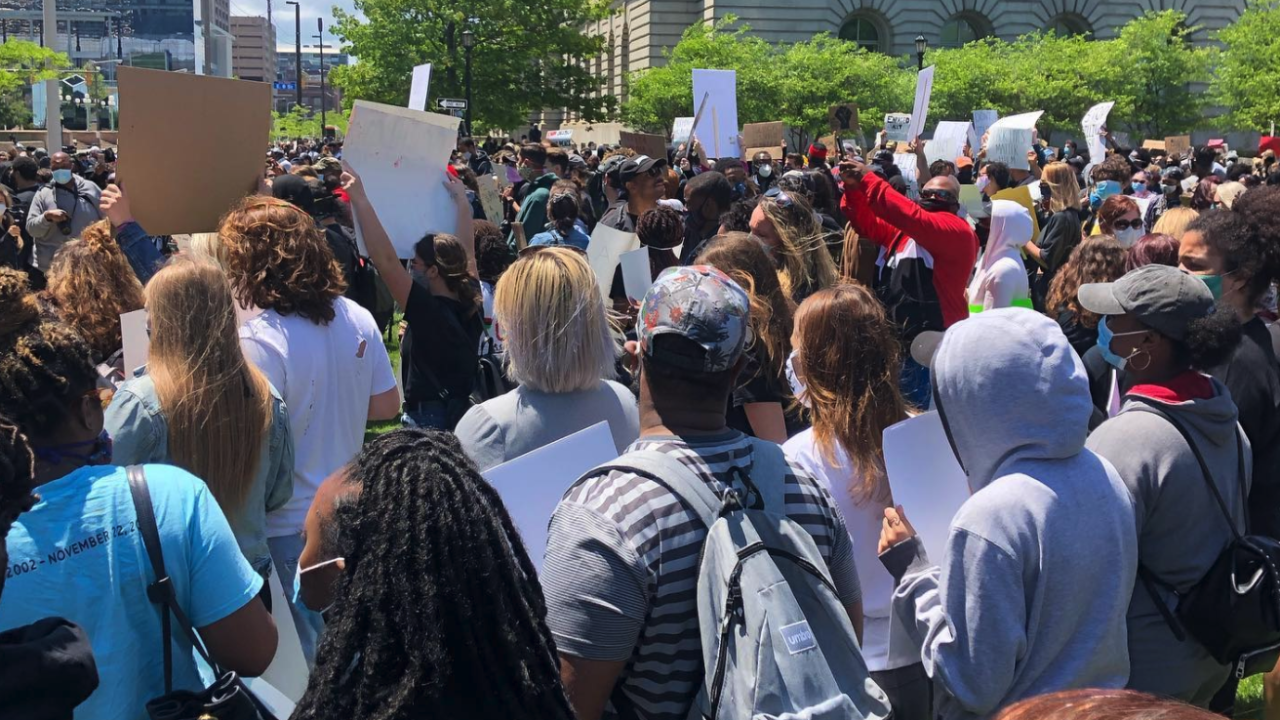 Cleveland peaceful protest