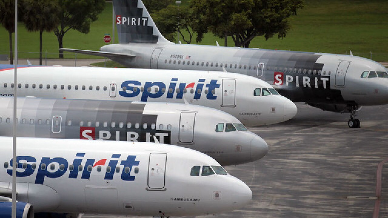 Canceled flight leads to passenger brawl at Spirit Airlines ticket counter