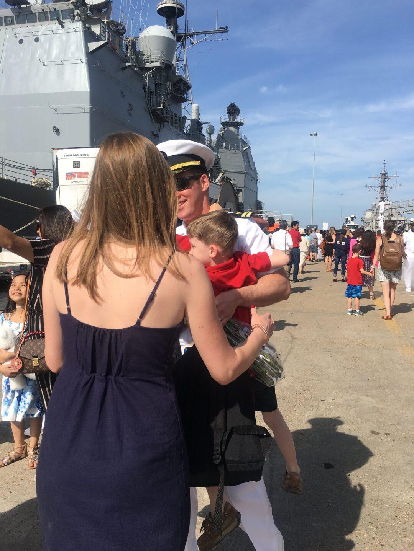 Photos: USS Mitscher returns to Hampton Roads from 7.5 monthdeployment