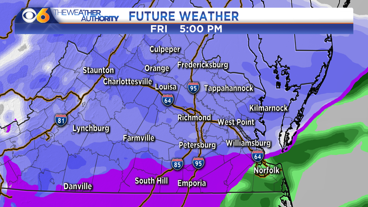 Winter Storm: Timeline and accumulationforecast