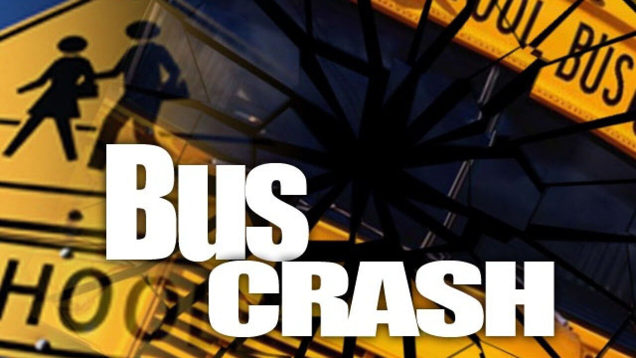 3 People Dead After Bus Crashes Head-On with Car in Georgia
