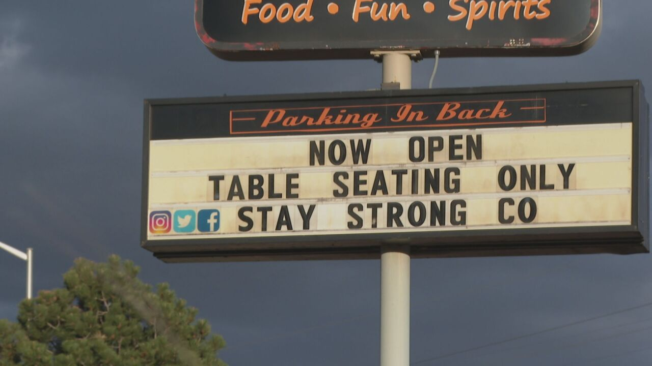Restaurants, bars reopen following Governor's announcement