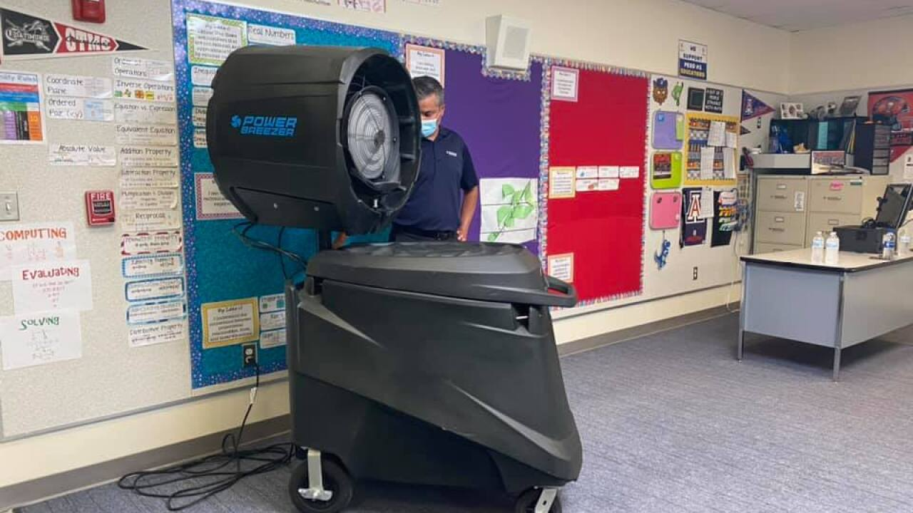 Southern Arizona school district uses unique method to keep classrooms sanitized