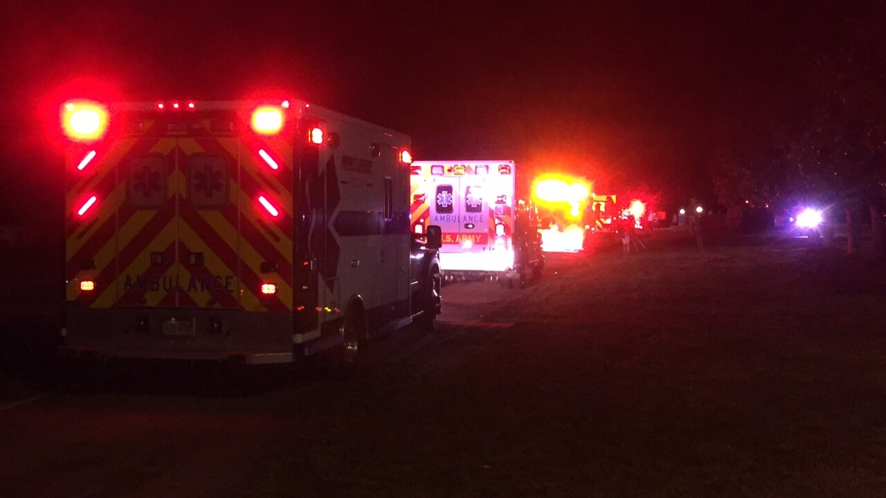 2 hospitalized after shooting during concert at Virginia Motorsports Park