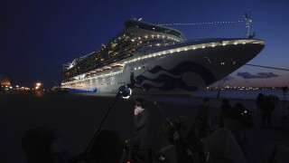 44 more people test positive for coronavirus aboard cruise ship docked in Japan