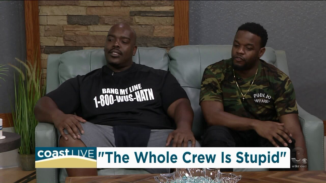 """Laughing with the guys from """"The Whole Crew is Stupid Comedy Tour"""" on CoastLive"""