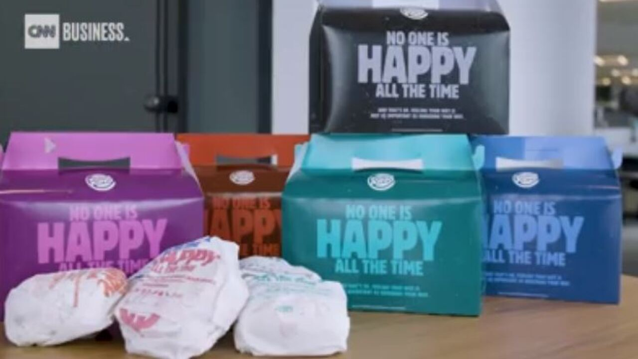 Burger King spoofs McDonald's with not-so-Happy Meals