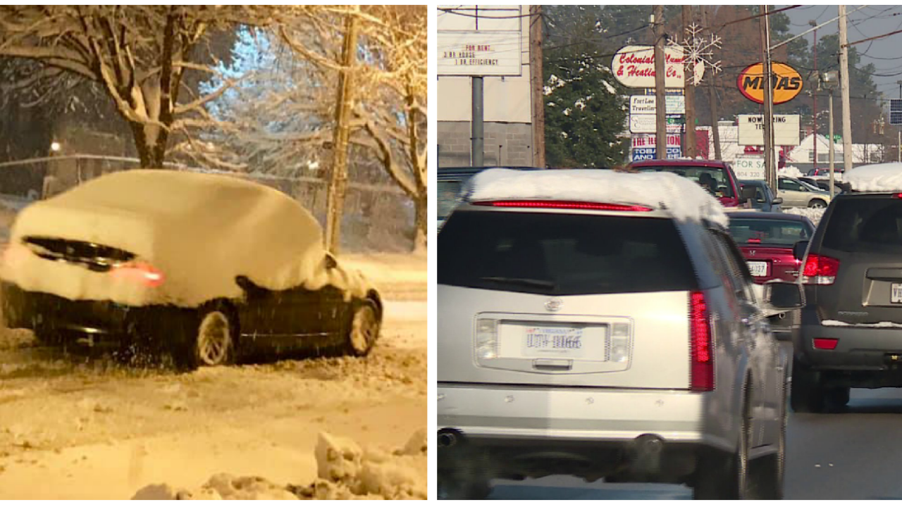 The dangers of not properly clearing snow and ice off your car