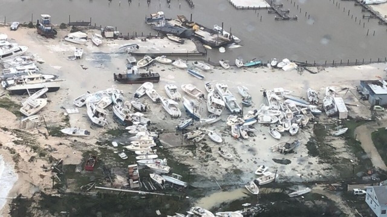 Pictures from U.S. Coast Guard show Bahamas devastation left behind by Dorian