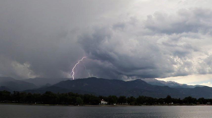Prospect Lake lightning