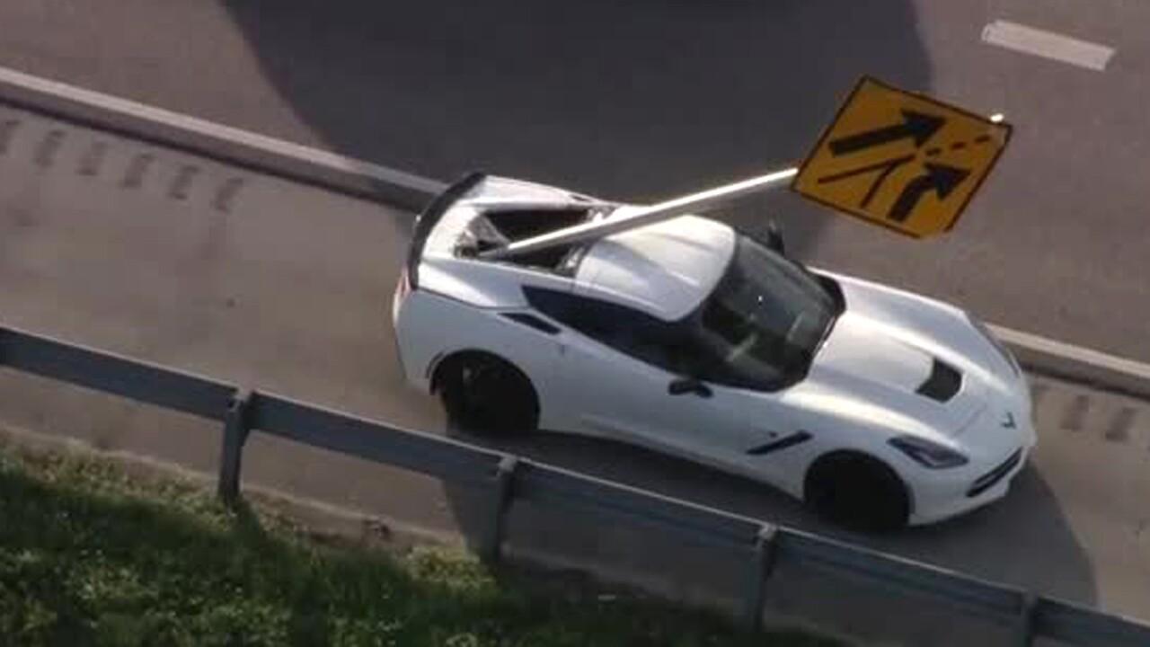 wptv-sign-impales-corvette.jpg