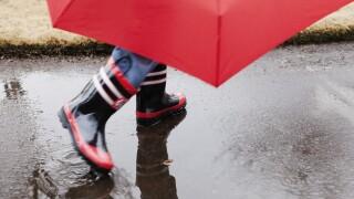 Wx Rain Boots & Umbrella