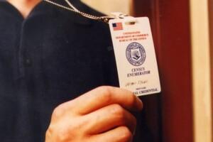 Census badge