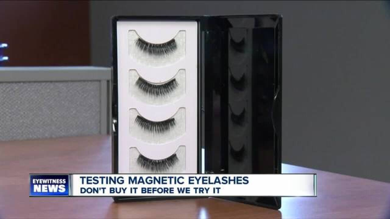 Don't Buy It Before We Try It: Magnetic Lashes