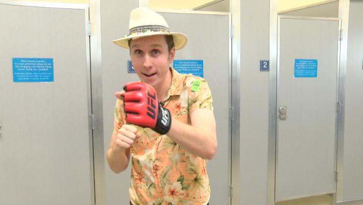 Hawaiian Punch (Or angry Jimmy Buffet?)