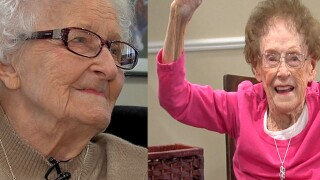 Two residents of local senior living community reach the century mark