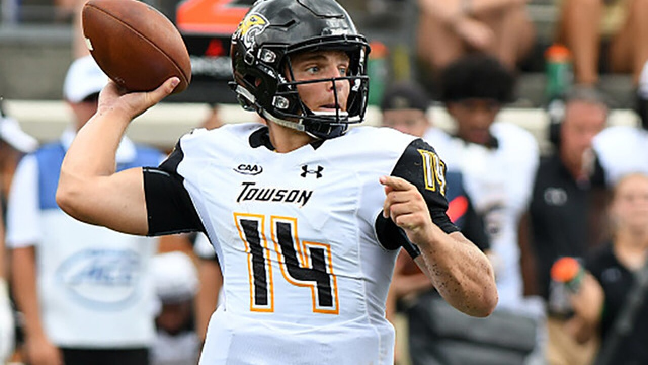 Towson's Flacco nominated for Walter Payton Award