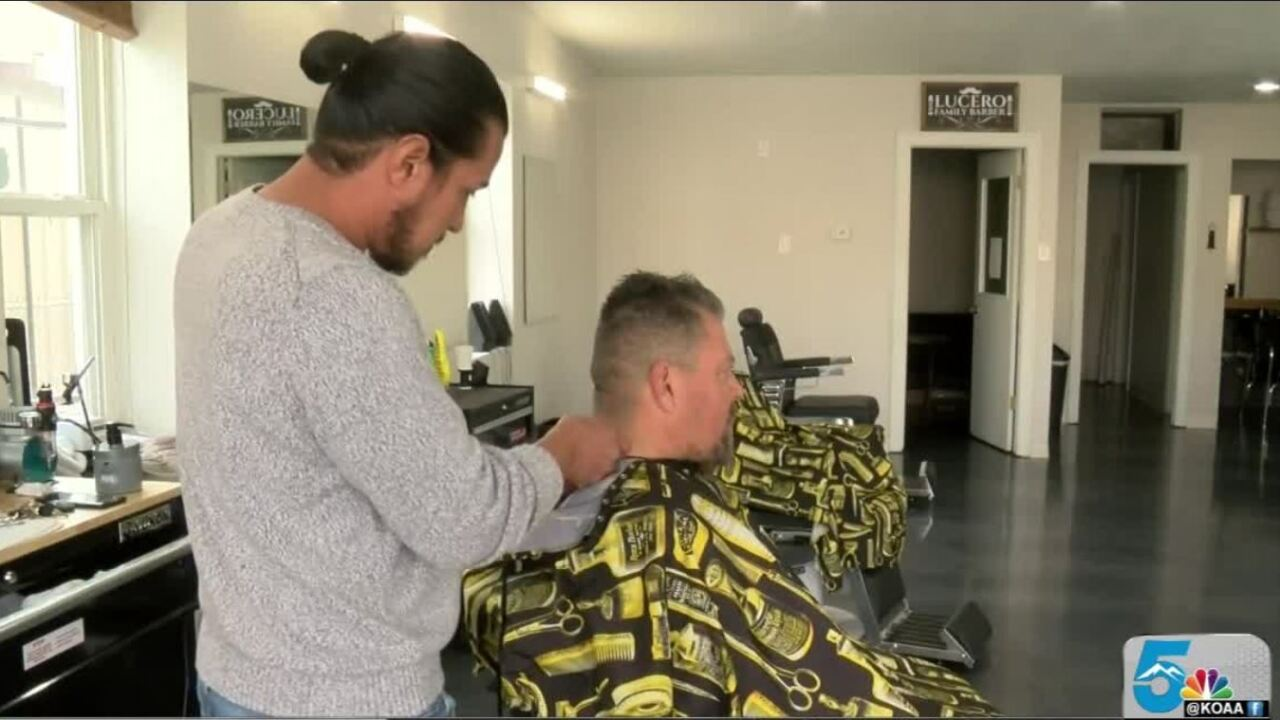 Pueblo barber shop offers veterans free haircuts on Veterans Day