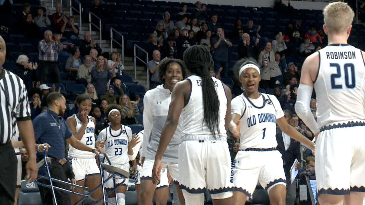 ODU women's hoops edges out VCU for second straight win