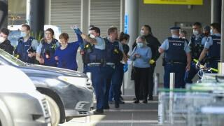 New Zealand Supermarket Terror Attack stabbing