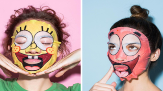 You Can Now Buy Face Masks That Turn You Into SpongeBob And Patrick